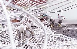 04.07.2019, Uttendorf, AUT, Murenabgang in Uttendorf, im Bild Aufräumarbeiten nach dem Murenabgang des Manlitzbachs // Removal work after the heavy storm and mudslide into the village of Uttendorf , Austria on 2019/07/04. EXPA Pictures © 2019, PhotoCredit: EXPA/ JFK