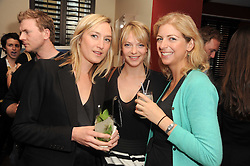 A party to promote the exclusive Puntacana Resort & Club - the Caribbean's Premier Golf & Beach Resort Destination, was held at The Groucho Club, 45 Dean Street London on 12th May 2010.<br /> <br /> Picture shows:-RACHEL KINDER, TANYA HAMILTON-SMITH and MARIELLA RYECART