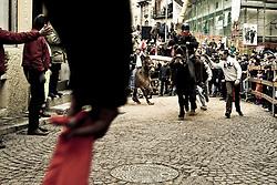 Pignola (PZ) 16/01/2008 - Festa di Sant'Antonio Abate. Il Palio.