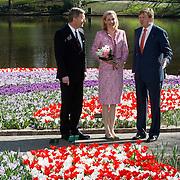NLD/Lisse/20110323 - Opening Keukenhof 2011 door Willem - Alexander en president Duitsland Wulff en partner
