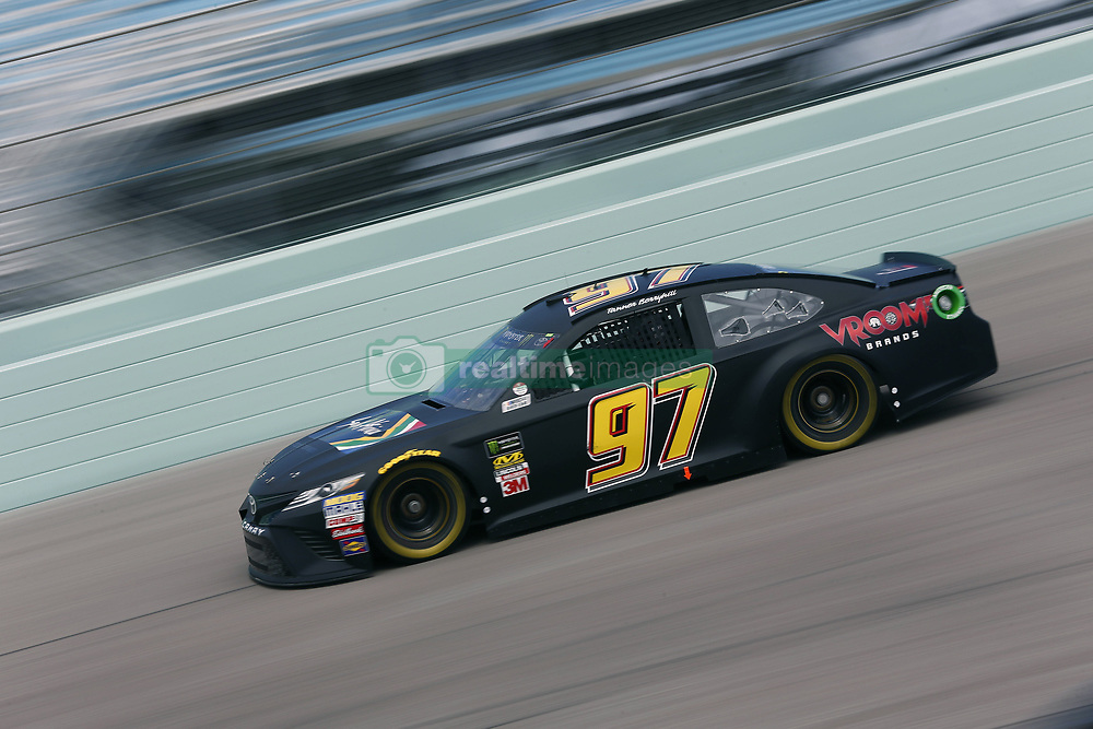 November 17, 2018 - Homestead, Florida, U.S. - Tanner Berryhill (97) takes to the track to practice for the Ford 400 at Homestead-Miami Speedway in Homestead, Florida. (Credit Image: © Justin R. Noe Asp Inc/ASP)