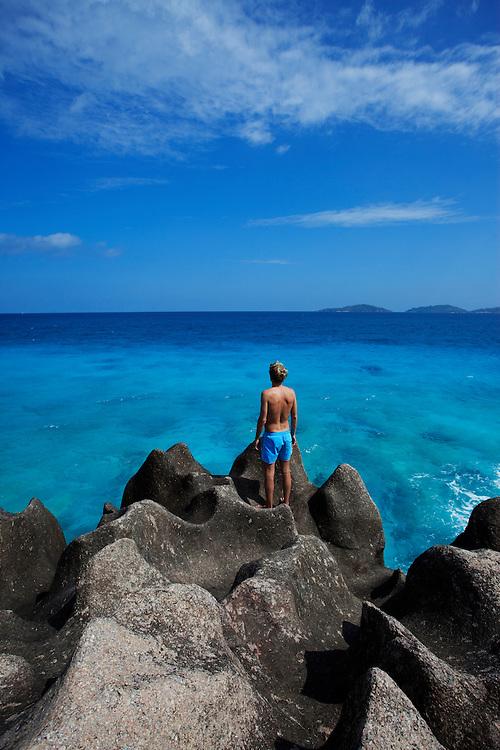 Seychelles, La Digue, Paradise, Beach, Outside,