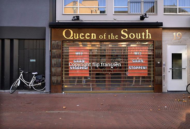 Nederland, Eindhoven, 27-10-2019Een kledingwinkel, Queen of the South, in de binnenstad stopt er mee en gaat sluiten.Foto: Flip Franssen