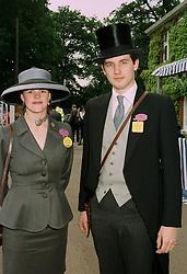 The EARL & COUNTESS OF HOPETOUN at Royal Ascot on 17th June 1997.<br /> LZI 15