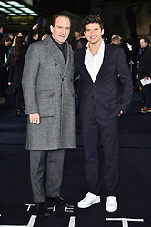 Oleg Ivenko and Ralph Fiennes attending The White Crow UK Premiere held at the Curzon Mayfair, London. Oleg Ivenko, Ralph Fiennes Picture date: Tuesday March 12, 2019. Photo credit should read: Matt Crossick/Empics