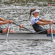 NZL LW2x (b) Sophie MACKENZIE (s) Julia EDWARD – 1st place 6:48.56 SAT 30 AUG 2014<br /> <br /> Crews racing the World Championships on The Bosbaan, Amsterdam, The Netherlands, 29/30/31 August 2014  Copyright photo © Steve McArthur / @rowingcelebration www.rowingcelebration.com