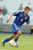 FOTBALL - CONFEDERATIONS CUP 2003 - GROUP A - 030618 - NEW ZEALAND v JAPAN - YOSHITO OKUBO (JAP) - PHOTO STEPHANE MANTEY / DIGITALSPORT