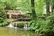 Guest house and restaurant, Slunj, Croatia a small town in the mountainous part of Central Croatia