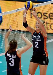 01-10-2014 ITA: World Championship Volleyball Servie - Nederland, Verona<br /> Nederland verliest met 3-0 van Servie en is kansloos voor plaatsing final 6 / Femke Stoltenborg