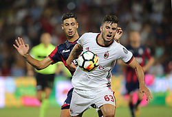August 20, 2017 - Crotone, KR, Italy - Patrick Cutrone during the Serie A match between FC Crotone and AC Milan on August 20, 2017 in Crotone, Italy. (Credit Image: © Gabriele Maricchiolo/NurPhoto via ZUMA Press)