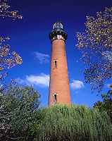 AA05855-03...NORTH CAROLINA - Currituck Beach Lighthouse at Corrolla on the Outer Banks.