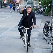 NLD/Amsterdam/20150517 - Start van radiozender 40Up, Michiel Romeijn