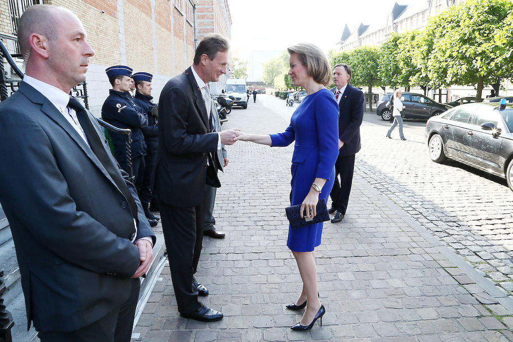 20150603- Brussels - Belgium - 03 June2015 - European Development Days - EDD  - Arrival of Queen Mathilde of Belgium at the EDD © EU/UE