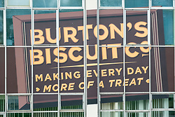 """Pictured: Burton's Biscuit factory in Edinburgh <br /> <br /> Up to 40 staff have been told to self-isolate after a Covid outbreak at an Edinburgh biscuit factory.<br /> <br /> Burton's Biscuit Co. confirmed that approximately 40 staff at its Edinburgh bakery, known as the """"home of shortbread"""", were """"absent from the site"""" after a """"proportion of them"""" tested positive for the virus."""