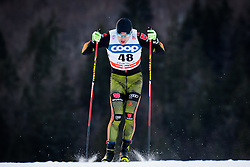 Wenzl Josef (GER) during Man 1.2 km Free Sprint Qualification race at FIS Cross<br /> Country World Cup Planica 2016, on January 16, 2016 at Planica,Slovenia. Photo by Ziga Zupan / Sportida