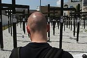 Berlin , memorial for the vistim of the Holocaust