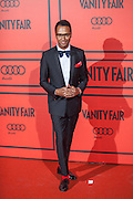 Johann Wald during the photocall of Vanity Fair 5th Anniversary party In Madrid