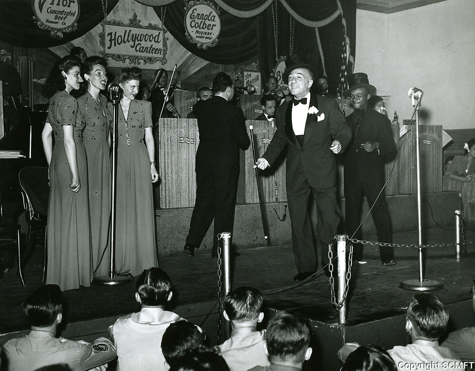 1943 Ted Lewis at The Hollywood Canteen