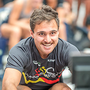 Martyn O Leary Mens relay Race #26  03:30pm<br /> <br /> www.rowingcelebration.com Competing on Concept 2 ergometers at the 2018 NZ Indoor Rowing Championships. Avanti Drome, Cambridge,  Saturday 24 November 2018 © Copyright photo Steve McArthur / @RowingCelebration