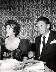 Ronald Reagan and wife Nancy. Ref:PHPS598446. Date:24.06.1959. EXPA Pictures © 2016, PhotoCredit: EXPA/ Photoshot/ Photoshot<br /> <br /> *****ATTENTION - for AUT, SLO, CRO, SRB, BIH, MAZ, SUI only*****