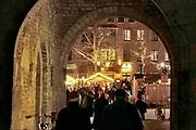 Duitsland, Xanten, 16-12-2019 Kerstmarkt in dit stadje langs de Rijn. Foto: Flip Franssen
