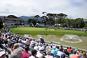 A large crowd applaud Rory McIlroy and Darren Clarke as  pictured at the Irish Open in Killarney 2010..Picture by Don MacMonagle