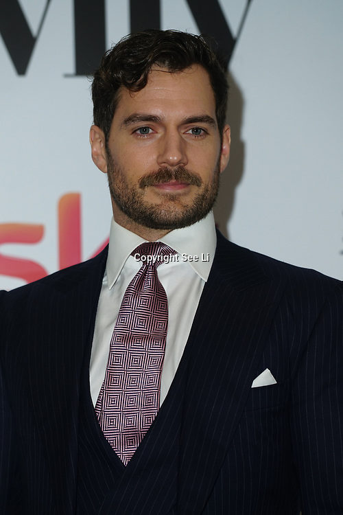 London Hilton, Park lane, England, UK. 1st December 2017. Henry Cavill attends the Sky Women in Film and TV Awards.