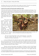 Amnesty International Report - Laos, Hiding in the Jungle: Hmong Under Threat