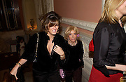Petronella Wyatt and her mother Lady Wyatt andrew Roberts and Leonie Frieda celebrate the publication of Andrew's 'Waterloo: Napoleon's Last Gamble' and the paperback of Leonie's 'Catherine de Medic'i. English-Speaking Union, Dartmouth House. London. 8 February 2005. ONE TIME USE ONLY - DO NOT ARCHIVE  © Copyright Photograph by Dafydd Jones 66 Stockwell Park Rd. London SW9 0DA Tel 020 7733 0108 www.dafjones.com