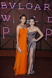 Kumiko Goto and Helena Alesi attend the Bvgalri Gala Dinner held at the Stadio dei Marmi in Rome, Italy on June 28, 2018. Photo by Marco Piovanotto/ABACAPRESS.COM
