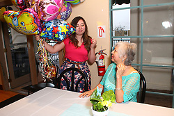Los Angeles, CA - MARCH 27: Jenny's 75th Anniversary in Los Angeles, California on March 27, 2015 (Photo by Jc Olivera/VipEventPhotography)