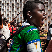 November 22nd 2013, a peaceful march takes place in the streets of Bangui, Central African Republic to protest against the death of Magistrate Bria, symbol of peace and fairness for the Central Africans. <br /> <br /> The death of the magistrate is turning for the population as it shows that the Seleka kill not only the population but also the Judiciary body. The march is forbidden by the Ministry of Interior, Mr Binoua, but the Magistrates decide to march anyway and ask for the demission of the president and his government.