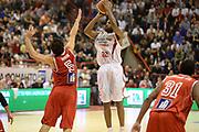 DESCRIZIONE : Pistoia Lega serie A 2013/14 Giorgio Tesi Group Pistoia Victoria Libertas Pesaro<br /> GIOCATORE : gibson kyle<br /> CATEGORIA : tiro tre punti<br /> SQUADRA : Giorgio Tesi Group Pistoia<br /> EVENTO : Campionato Lega Serie A 2013-2014<br /> GARA : Giorgio Tesi Group Pistoia Victoria Libertas Pesaro<br /> DATA : 24/11/2013<br /> SPORT : Pallacanestro<br /> AUTORE : Agenzia Ciamillo-Castoria/GiulioCiamillo<br /> Galleria : Lega Seria A 2013-2014<br /> Fotonotizia : Pistoia Lega serie A 2013/14 Giorgio Tesi Group Pistoia Victoria Libertas Pesaro<br /> Predefinita :