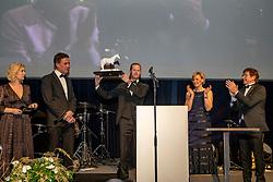 Athlete of the Year, Niels Bruynseels, Nena Verlooy, Eddy De Smedt, Stefaan Lammens, Ophélie Fontana<br /> Equigala - Dockx Dome - Brussel 2019<br /> © Hippo Foto - Dirk Caremans<br /> 22/01/2019