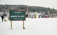 New England Pond Hockey Classic on Meredith Bay.  Karen Bobotas/for the Laconia Daily Sun