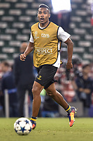 Alex Sandro of Juventus during the training session ahead the UEFA Champions League Final between Real Madrid and Juventus at the National Stadium of Wales, Cardiff, Wales on 2 June 2017. Photo by Giuseppe Maffia.<br /> Giuseppe Maffia/UK Sports Pics Ltd/Alterphotos