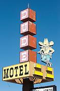 Dude Motel, West Yellowstone, Montana