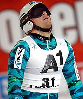 Alpint<br /> Flachau Østerrike<br /> 21.12.2011<br /> Foto: Gepa/Digitalsport<br /> NORWAY ONLY<br /> <br /> FIS Weltcup, Slalom der Herren, Nachtslalom. Bild zeigt die Enttaeuschung von Kjetil Jansrud (NOR).