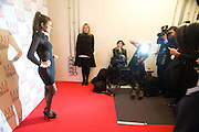 ALICE DELLAL, The Elle Style Awards 2009, The Big Sky Studios, Caledonian Road. London. February 9 2009.