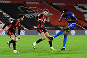 Sammy Ameobi (11) of Nottingham Forset shoots at goal during the EFL Sky Bet Championship match between Bournemouth and Nottingham Forest at the Vitality Stadium, Bournemouth, England on 24 November 2020.