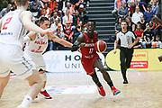 BASKETBALL: VTG Supercup 219, Deutschland - Polen, Hamburg, 18.08.2019<br /> Dennis Schröder (Deutschland)<br /> © Torsten Helmke