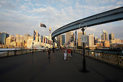 Darling Harbour. City Centre and Sydney Tower, Monorail.