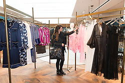 © Licensed to London News Pictures. 04/04/2016. SELFRIDGES unveils The Body Studio - the world's first fully integrated bodywear department and the largest retail space ever opened by the iconic London store. Covering over 37,000 sq ft, customers will experience over 3,000 brands and more than 5,000 different clothing options.London, UK. Photo credit: Ray Tang/LNP