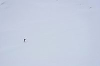Mann på skitur, man on skis