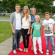NLD/Amsterdam/20120813 - Premiere Sensations van Circus Herman Renz, Mariska van Kolck en kinderen en stiefkinderen