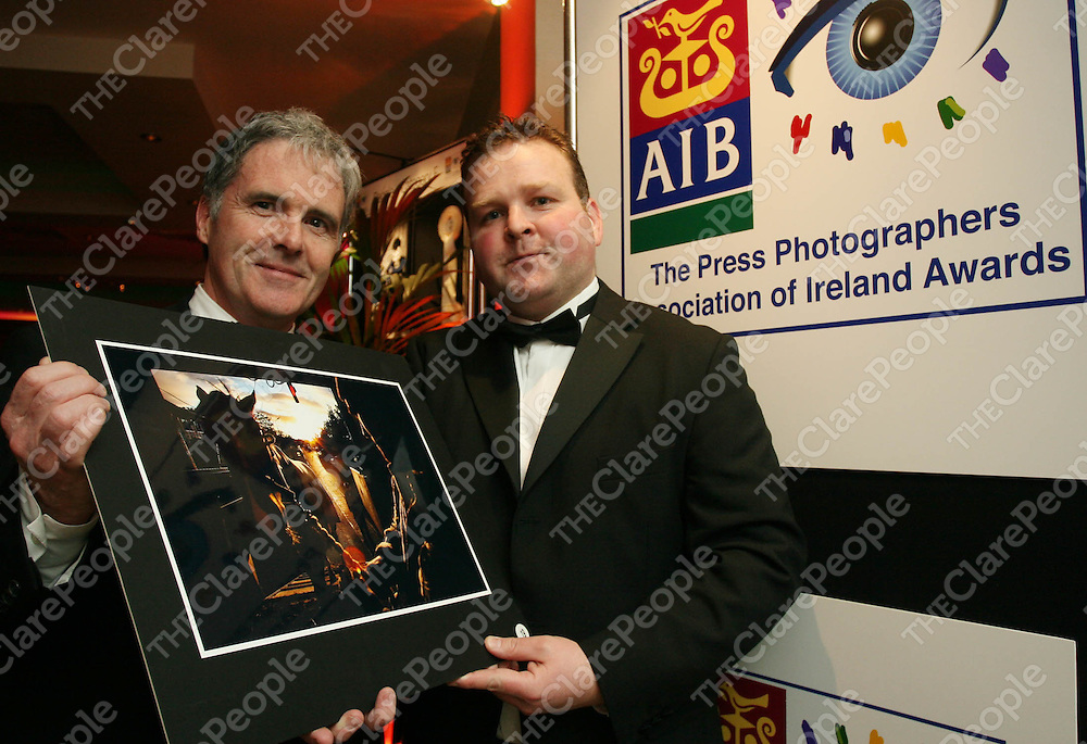 Gerry Collison and Eamon Ward at PPAI awards 2007.