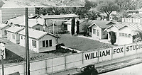 1924 William Fox Studios in Hollywood