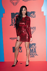 Nicole Scherzinger attends the MTV EMAs 2019 at FIBES Conference and Exhibition Centre on November 03, 2019 in Seville, Spain. Photo by David Niviere/ABACAPRESS.COM