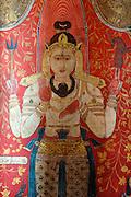 Murals at Kelaniya Temple.<br /> 1851