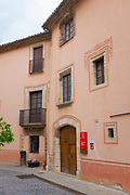 The house of Catalan patriot, Rafael Casanova Moià, Catalonia. Casanova was born here in 1714.